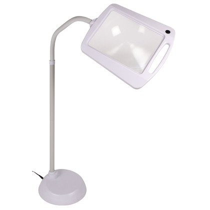 Freestanding Magnifying LED Lamp