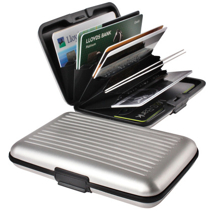 Mens Aluminium Wallet Plus 1 Free