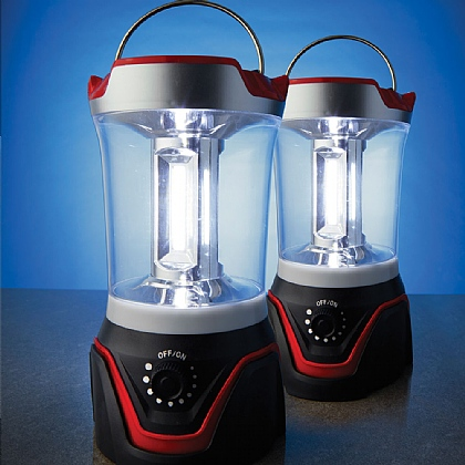 3W COB Lantern Pack of 2
