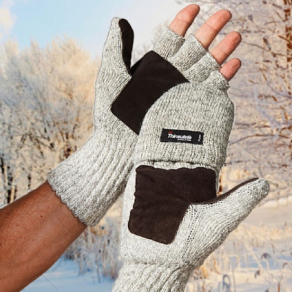Men's Thinsulate Mitten-Gloves