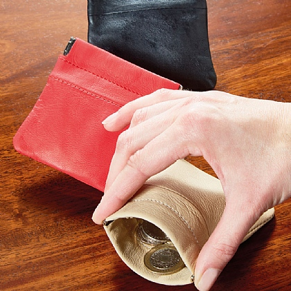 Leather Coin Purses