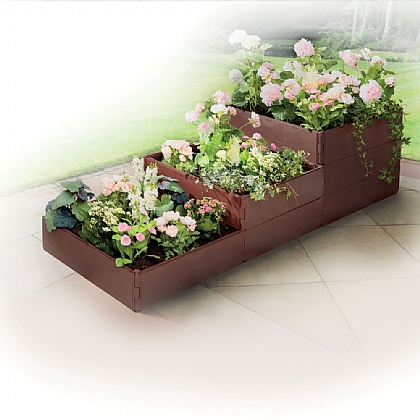 8 Pack Raised Garden Bed Set - Buy 2 Save £10