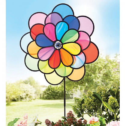 Flower Wind Spinner - Buy 2 & Save £5