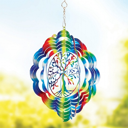 Tree of Life Wind Spinner - Buy 2 & Save £5