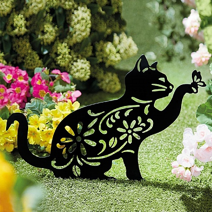 Cat & Butterfly Silhouette - Buy 2 & Save £5