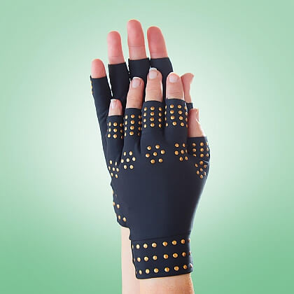 Pair of Magnetic Compression Gloves