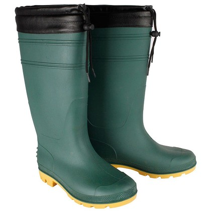 Mens Fleece Lined Wellies