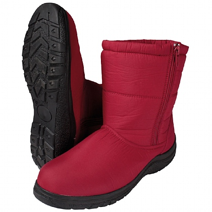 Ladies Red Winter Boots