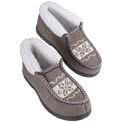 Patterned Ankle Slippers