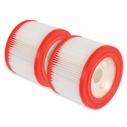 Additional Spare Filters (x2) for the Professional Vacuum Cleaner