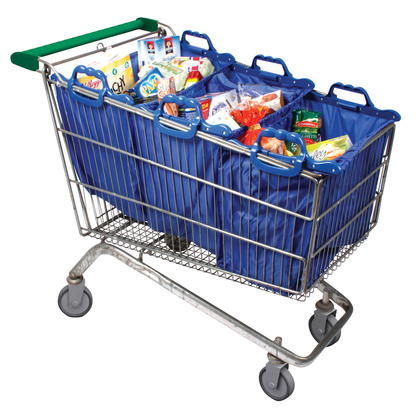 Set of 3 Supermarket Trolley Bags