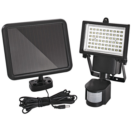 Solar Powered PIR Floodlight