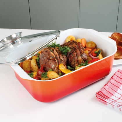 Cast Aluminium Lidded Roaster