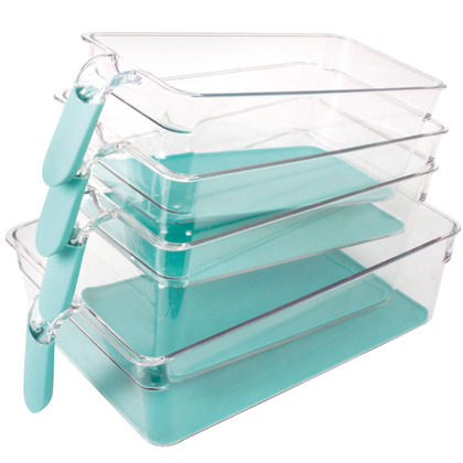Set of 4 Fridge Organiser Drawers