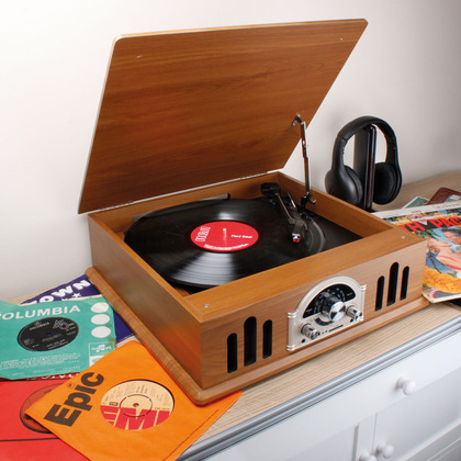 Record Player and Radio