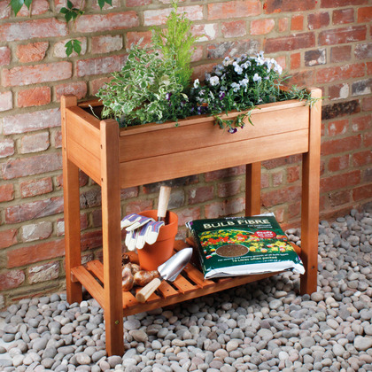 Wooden Raised Planter