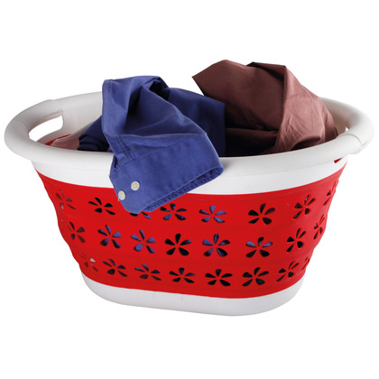 Space saving Collapsible Laundry Basket
