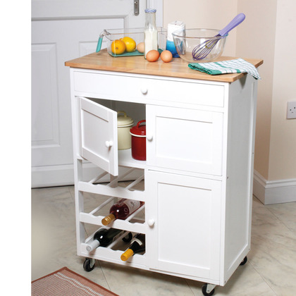 Wheeled Kitchen Trolley