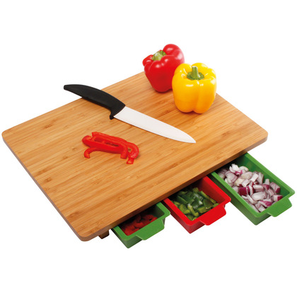 Chopping Board with Containers