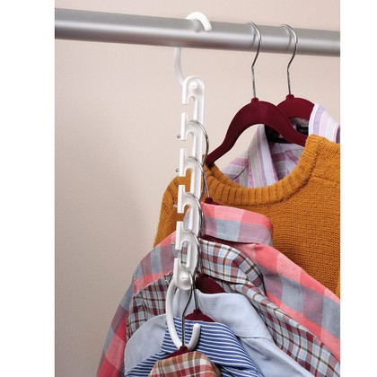 Pk 6 Space Saving Hangers