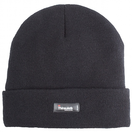 Black Thinsulate Beanie