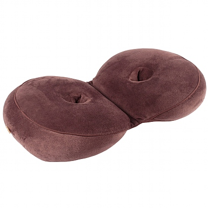 Brown Memory Foam Orthopaedic Cushion
