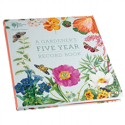 A Gardeners Five Year Record Book