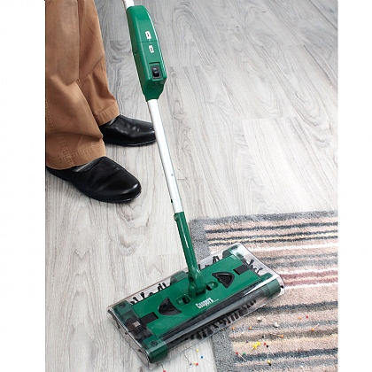Green Swivel Sweeper