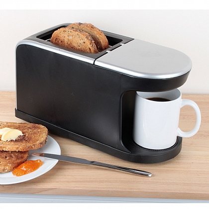 Toaster and Coffee Machine