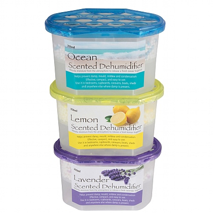 Pack of 3 Scented Dehumidifiers
