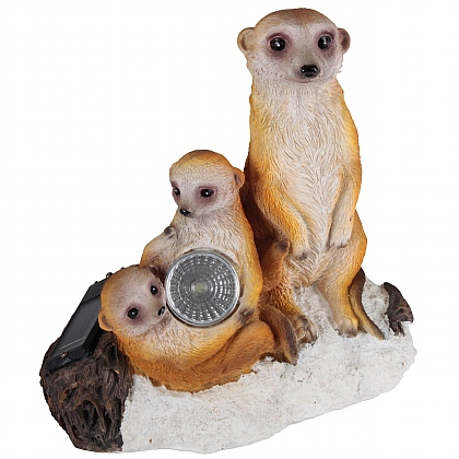 Meerkat Family Solar Light
