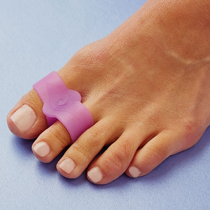 Set of 2 Lavender Toe Separator