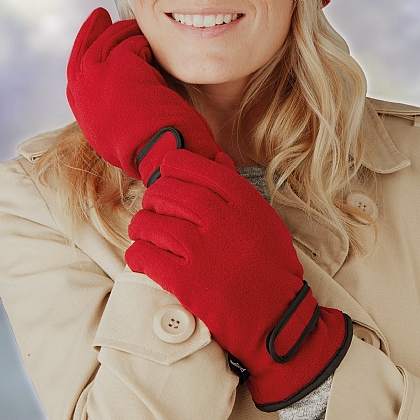 Red Thermal Gloves
