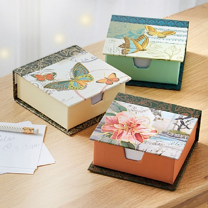 Set of 3 Memo Boxes
